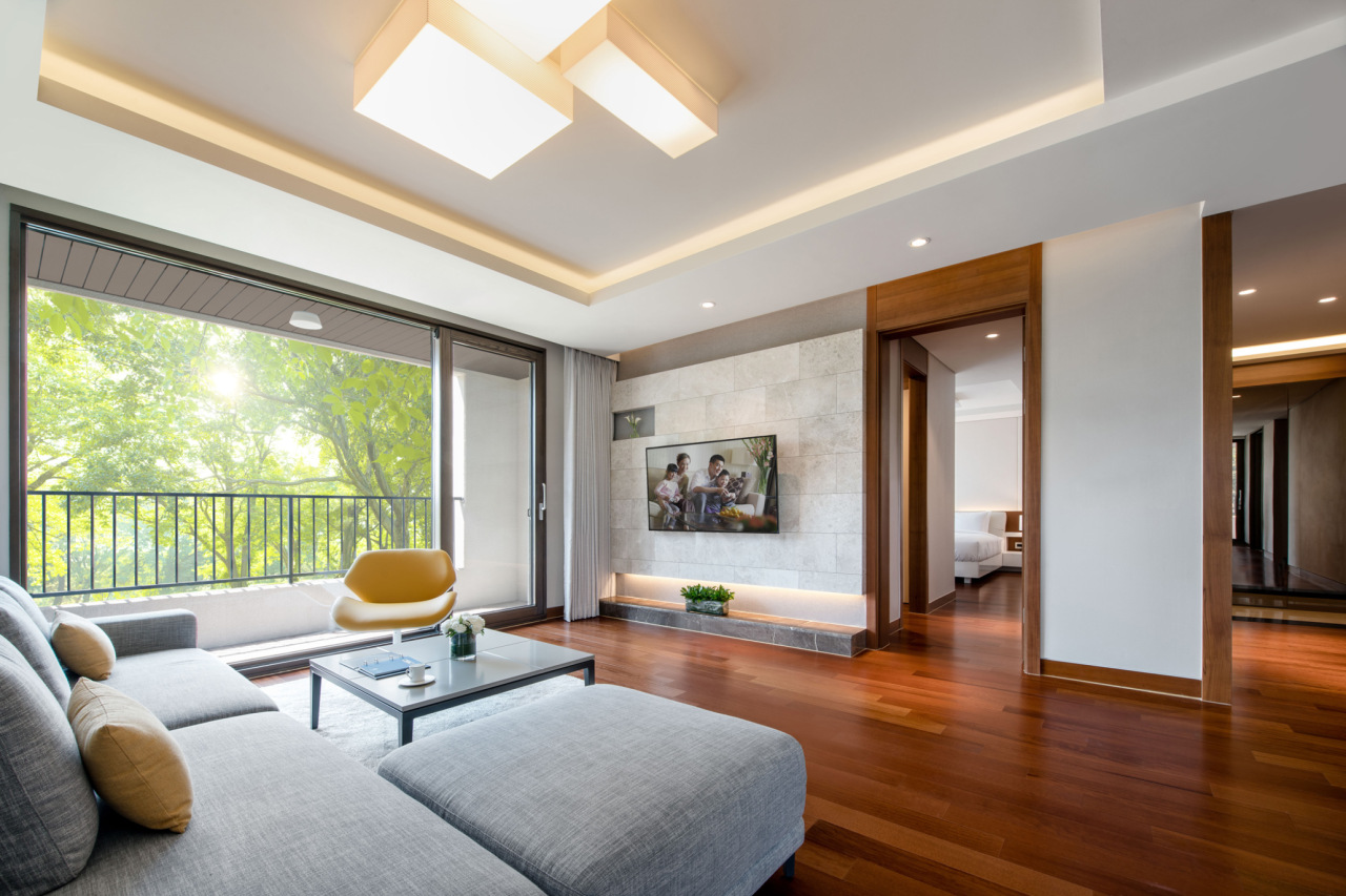 The Family Suite of Jeju Shinhwa World is offered for a one-month stay package. (Jeju Shinhwa World)