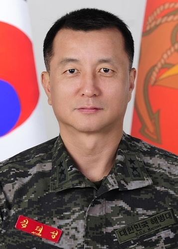 This photo provided by the defense ministry shows Maj. Gen. Kim Tae-sung. (Ministry of National Defense)