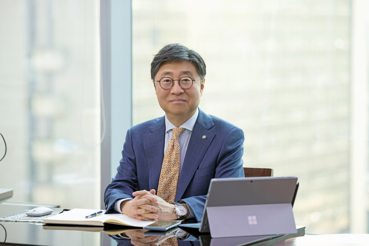 Mook Hyun-sang, head of the state-run Korea Drug Development Fund (KDDF)