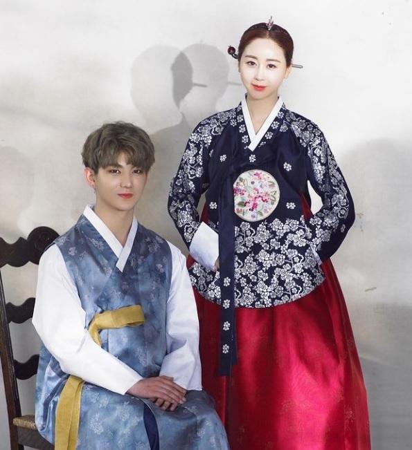 Ham So-won and Jin Hua (Instagram)
