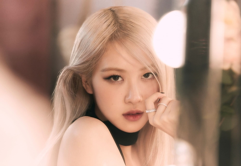 This photo, provided by YG Entertainment, shows BLACKPINK member Rose. (YG Entertainment)