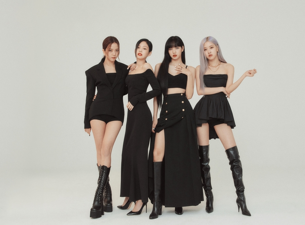This photo, provided by YG Entertainment, shows K-pop group BLACKPINK. (YG Entertainment)