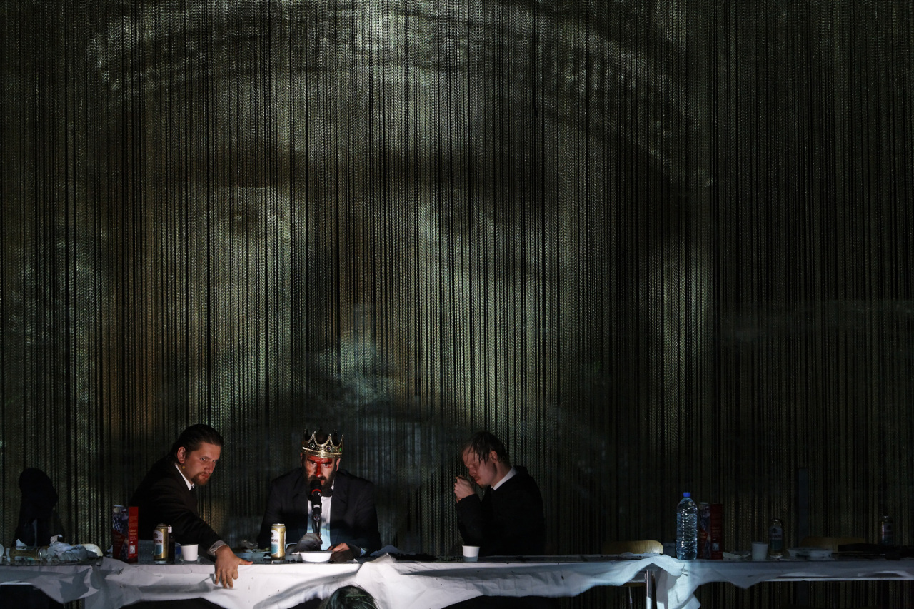"""Hamlet"" directed by Thomas Ostermeier and Schaubuhne Berlin (Christophe Raynaud de Lage / LG Arts Center)"