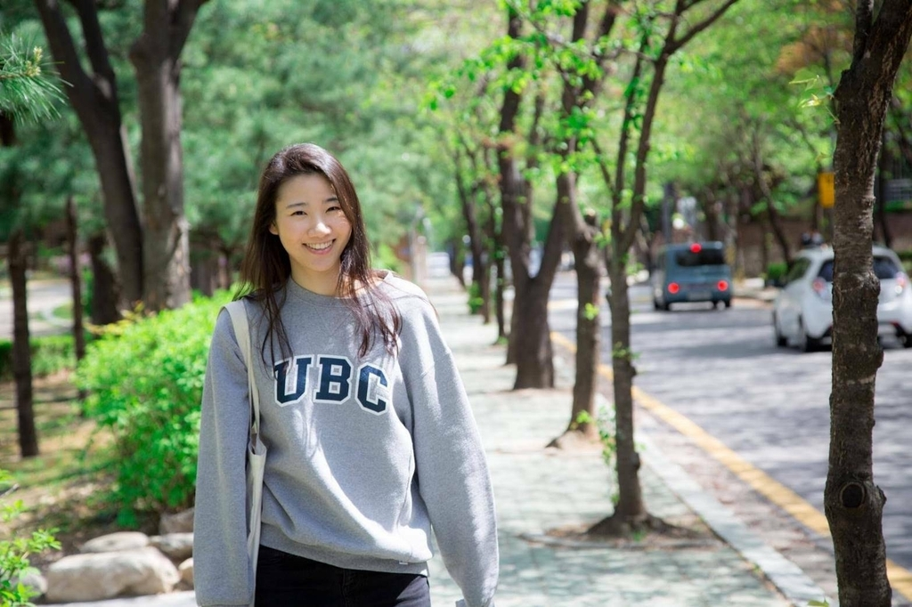 Tseng Yi-lin, a victim who died in a DUI accident that happened in Gangnam Ward in southern Seoul on Nov. 6, 2020, smiles in this undated photo provided by her family and friends. (Tseng Yi-lin's family and friends)