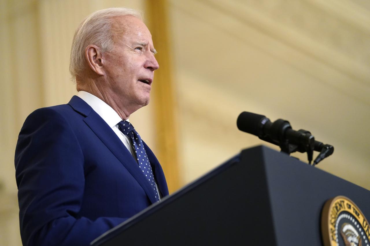 President Joe Biden (AP-Yonhap)