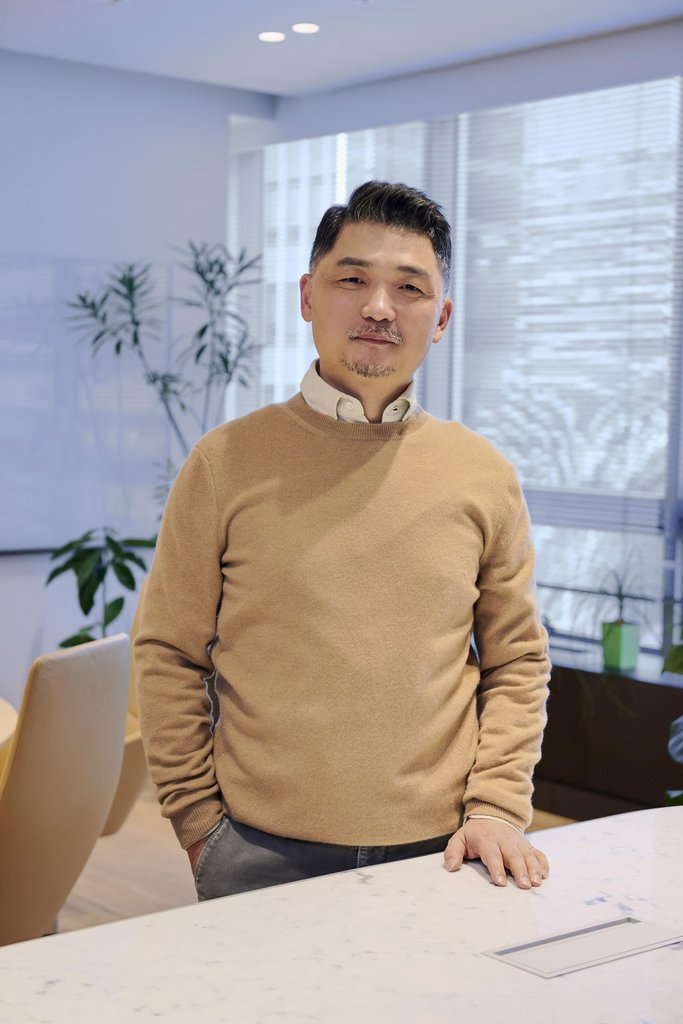 This file photo, provided by Kakao Corp., shows its chairman and founder Kim Beom-su. (Kakao Corp.)