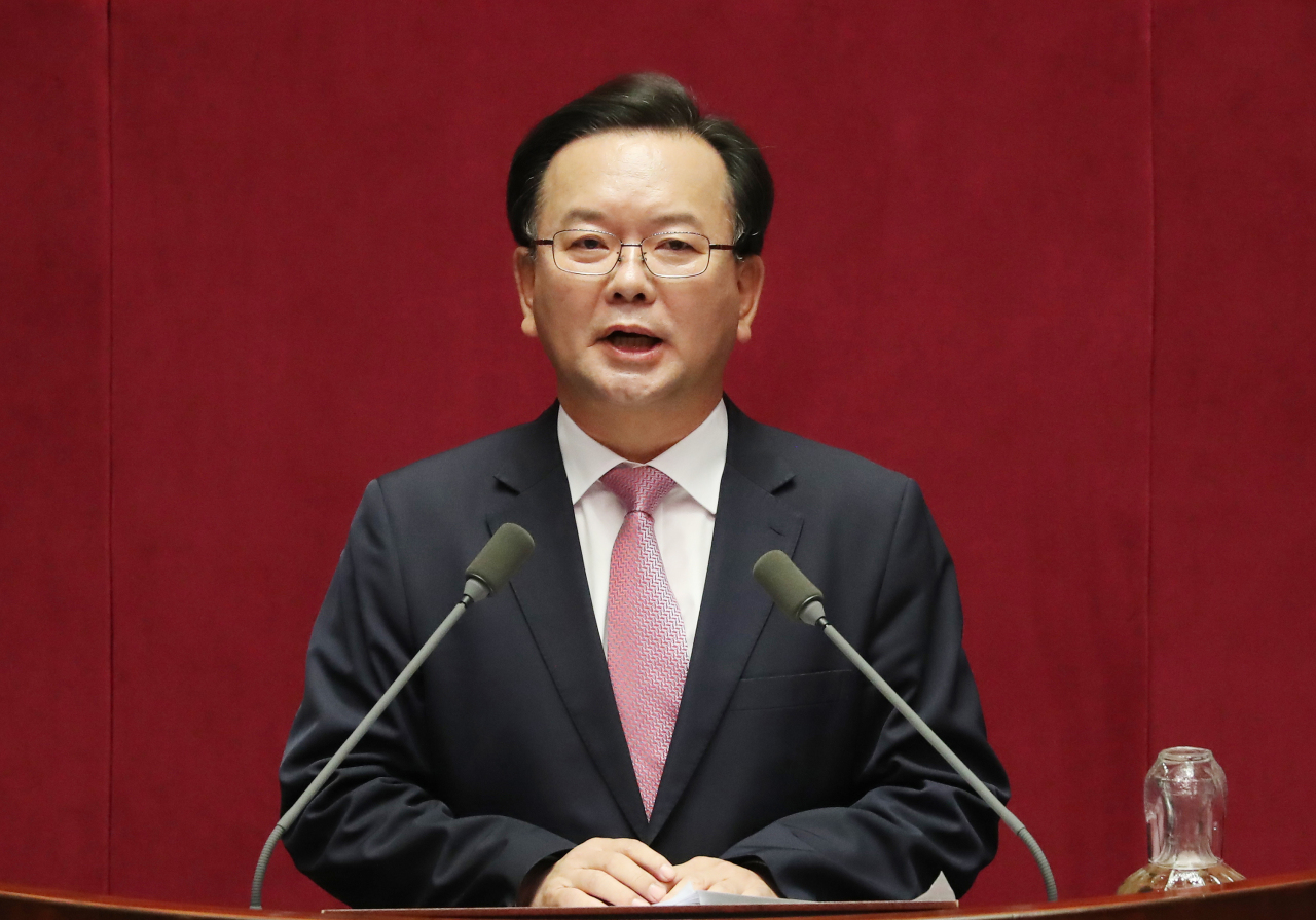 Prime Minister nominee Kim Boo-kyum (Yonhap)