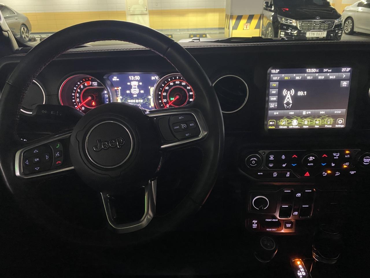 Jeep Wrangler Rubicon Recon Edition (Jo He-rim/The Korea Herald)