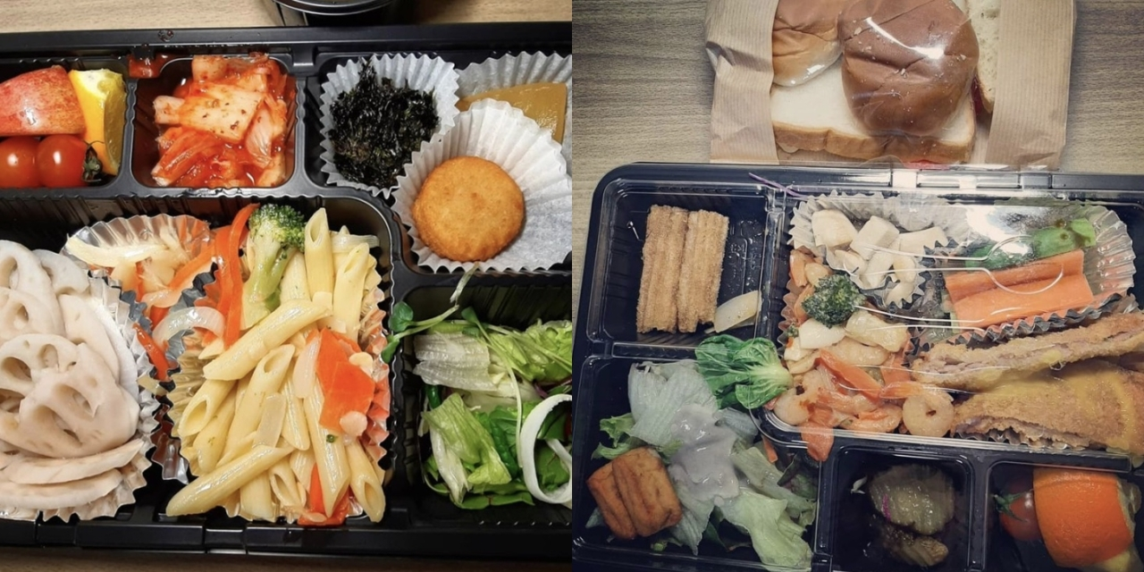 Mealboxes the family were provided during their stay at the treatment center. (courtesy of the family)