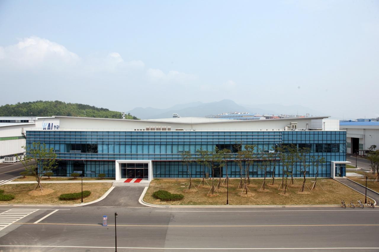 Korea Aerospace Industries' A350 smart factory in Sacheon, South Gyeongsang Province (KAI)