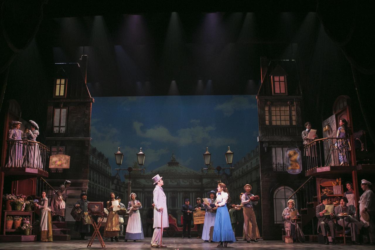 """Im Sun-hae features in the musical """"Phantom"""" as soprano Christine Daae. (EMK Musical Company)"""