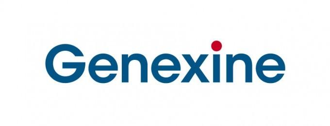 A picture shows Genexine's logo (Genexine)