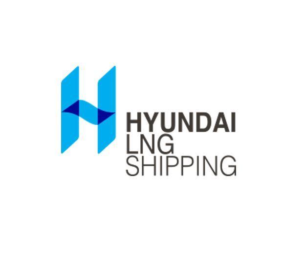 A logo of Hyundai LNG Shipping