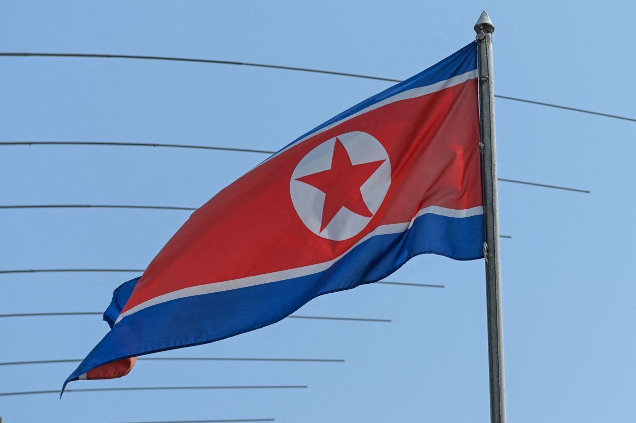 North Korean flag (Reuters-Yonhap)
