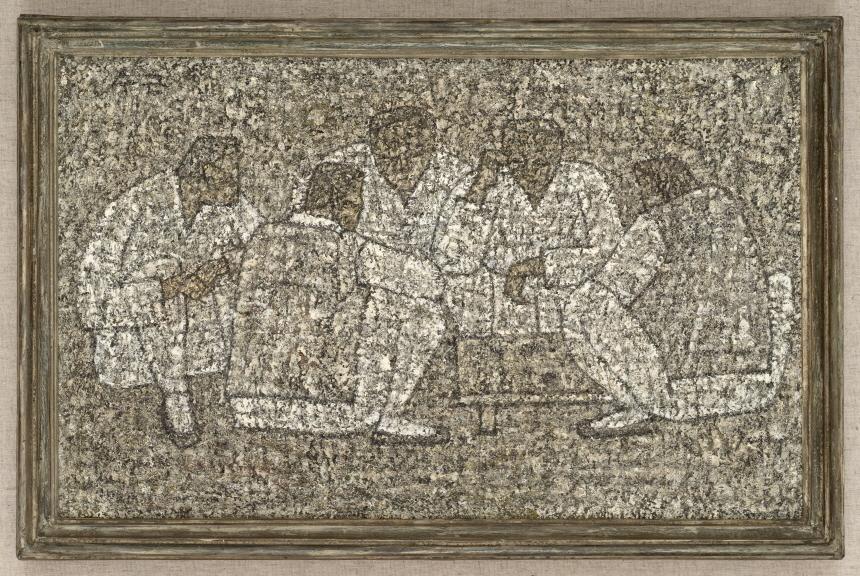 """""""Han il (Leisure time)"""" by Park Soo-keun (Park Soo Keun Museum)"""