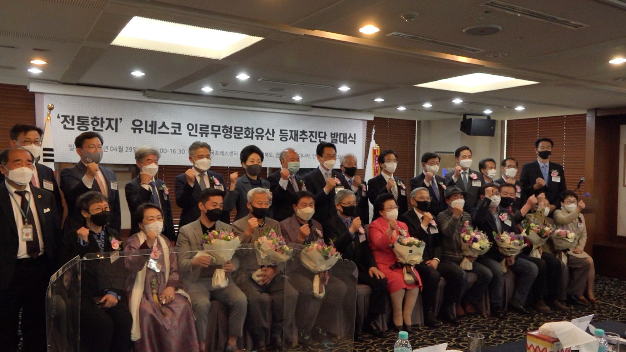 A meeting of a new committee dedicated to putting hanji on the UNESCO intangible cultural heritage list kicks off on Thursday. (Kim Hae-yeon/ The Korea Herald)