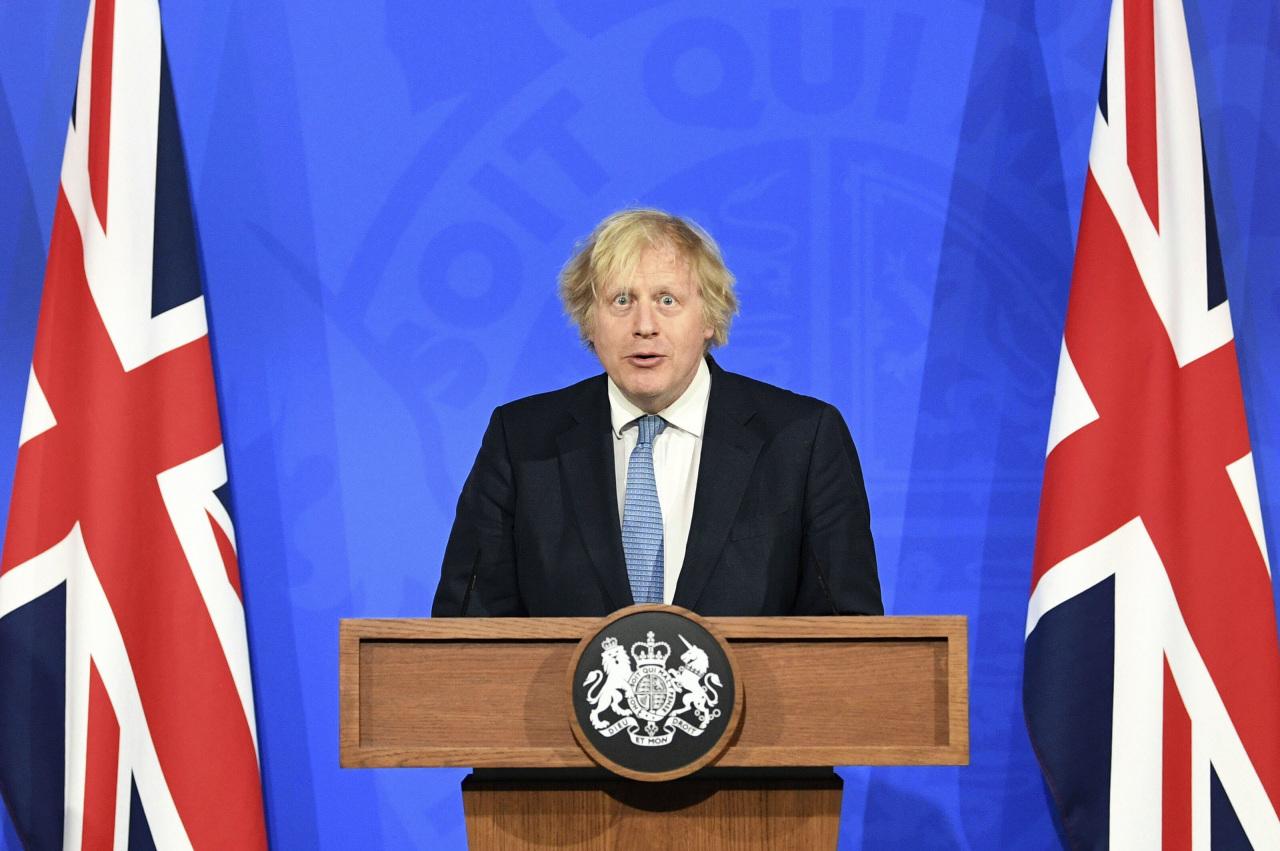 British Prime Minister Boris Johnson (AP-Yonhap)