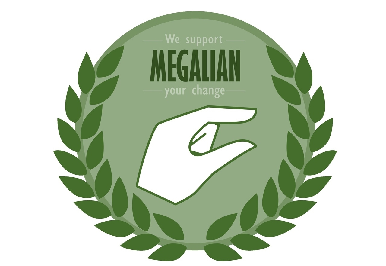 The logo of controversial radical feminist online community Megalia (Megalia)