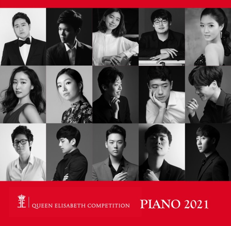 Korean competitors at the Queen Elisabeth Competition (Korean Cultural Center in Brussels)