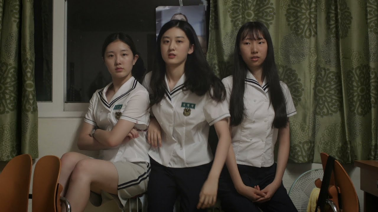 """A scene from """"Kim Min-young of the Report Card"""" co-directed by Lee Jae-eun and Lim Ji-sun, which won the grand prize in the Korean competition at the 22nd Jeonju International Film Festival. (Jeonju IFF)"""
