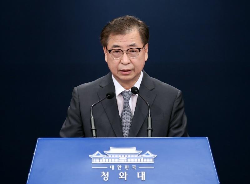 Cheong Wa Dae`s National Security Office chief Suh Hoon (Yonhap)