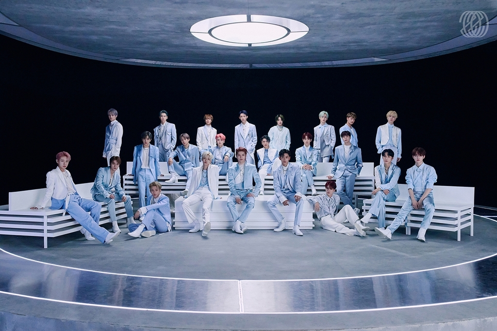 This photo, provided by SM Entertainment, shows members of the agency's K-pop boy band brand NCT. (SM Entertainment)