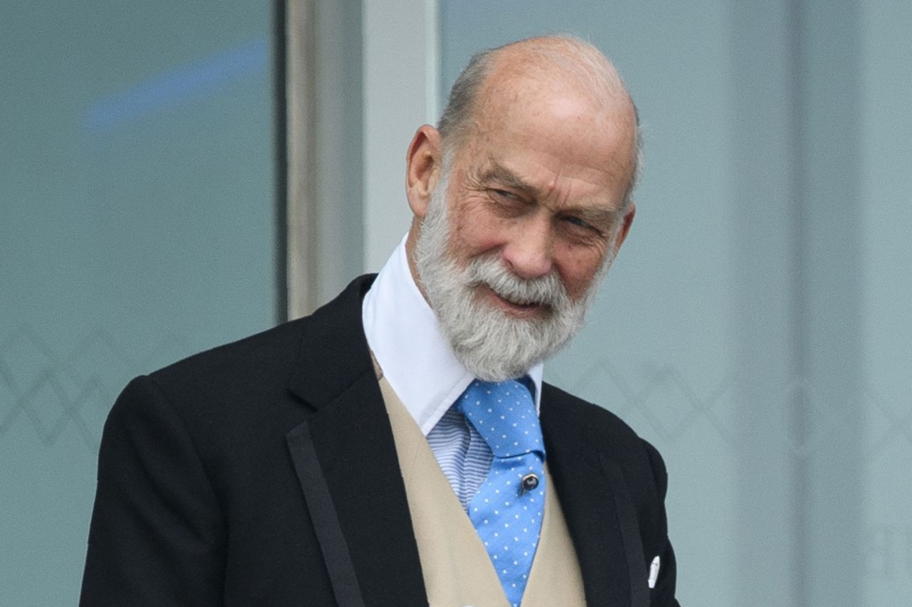 In this file photo taken on June 4, 2016 Britain's Prince Michael of Kent is seen at the Epsom Derby Festival in Surrey, southern England. - Queen Elizabeth's cousin, Prince Michael of Kent, has been caught offering investors access to the Kremlin in exchange for personal gain, according to a Sunday Times and Channel 4 investigation details of which were published on Sunday. (AFP-Yonhap)