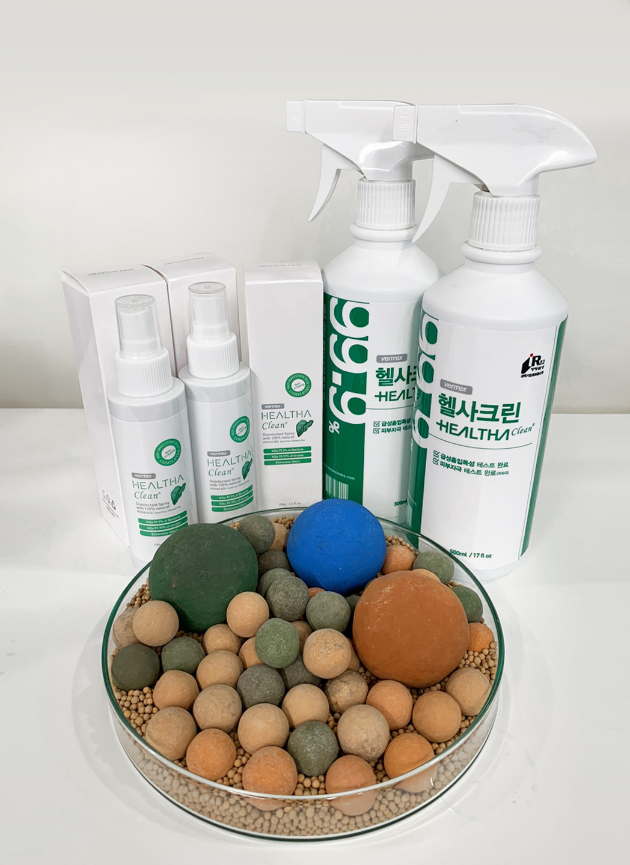 Ceramic deodorizers and antibacterial spray products of Ventex (Ventex)