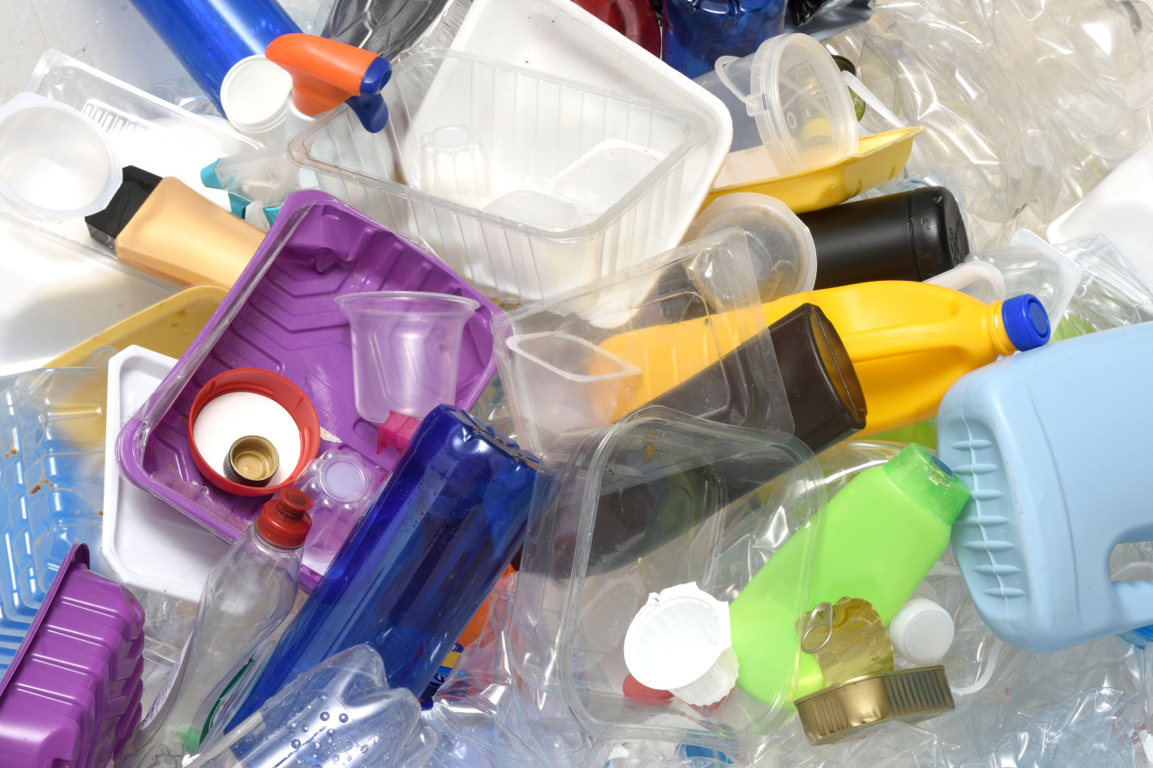 A pile of plastic waste (123rf)