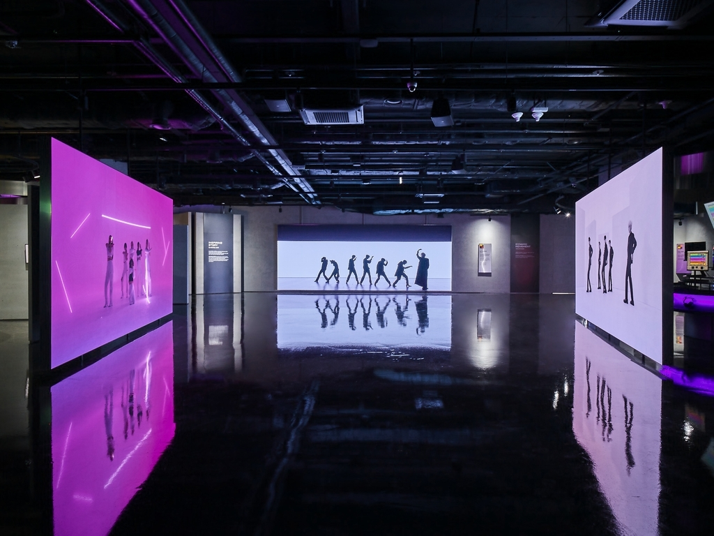 This photo, provided by Hybe Insight, shows the music museum in central Seoul dedicated to Hybe's fans and artists. (Hybe Insight)