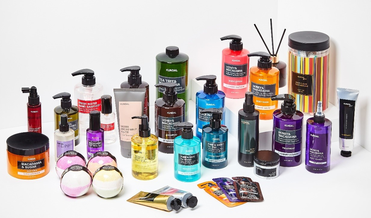 Hair & body care products under Kundal brand (VIG Partners)