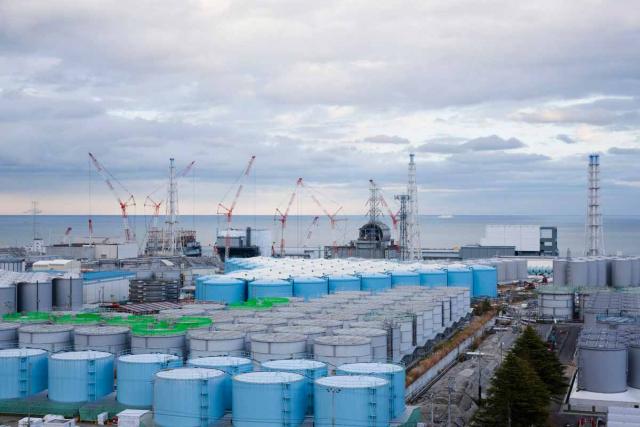 A panoramic view of the Fukushima Dai-ichi Nuclear Power Plant. (Yonhap)