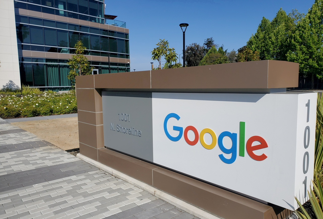 Google's corporate headquarters complex in Mountain View, California, US (Reuters-Yonhap)