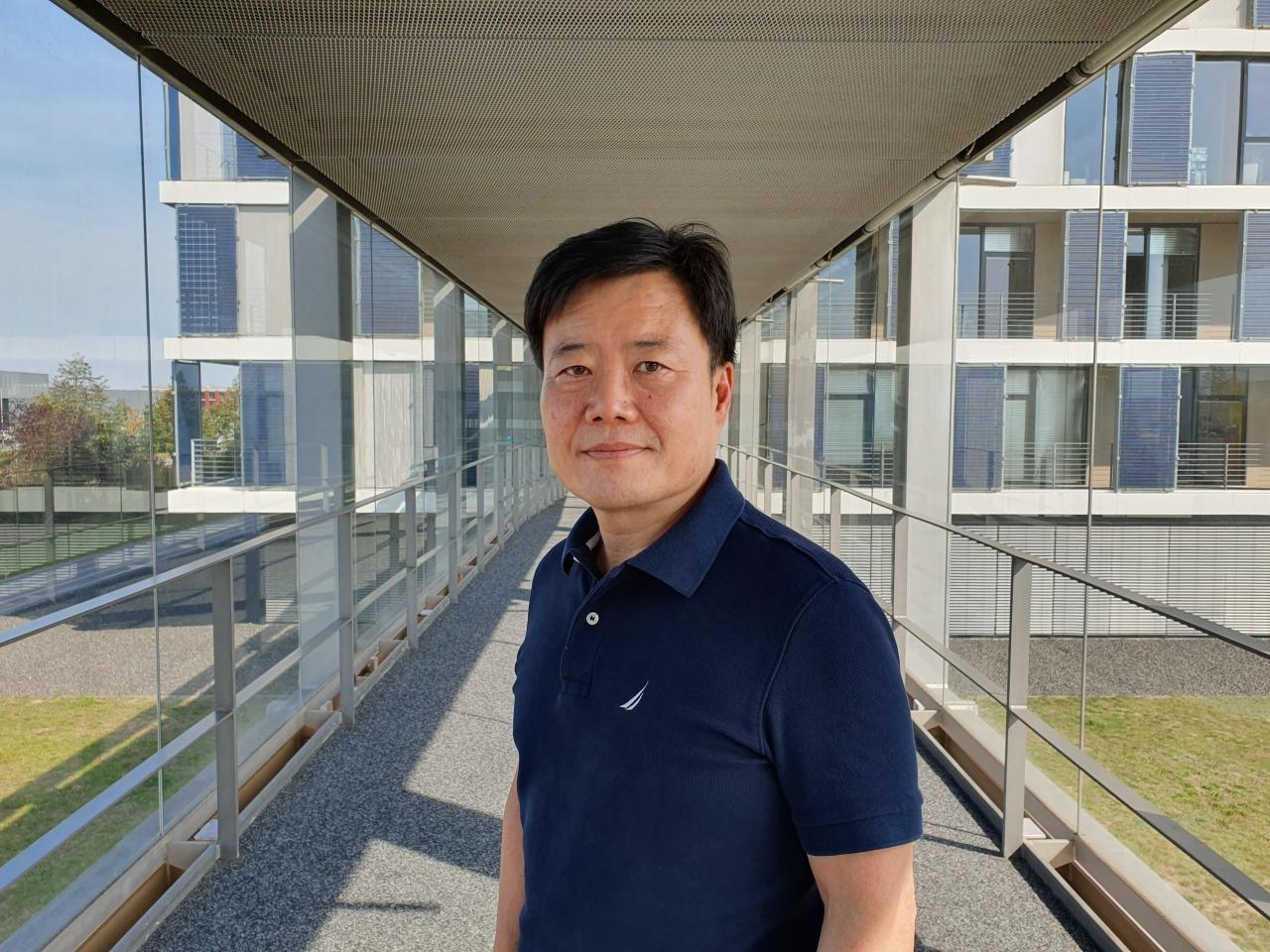 Jeong Ji-won, chief technology officer at Hanwha Q Cells (Hanwha)