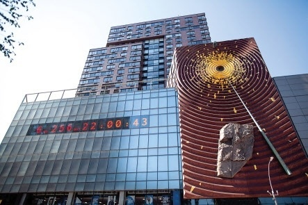 The Climate Clock in New York City was installed in 2020. (The Climate Clock)