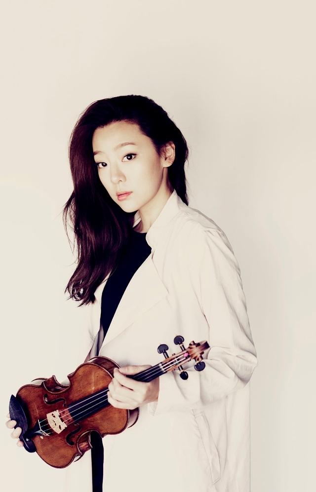 Violinist Clara Jumi Kang (Vincero)