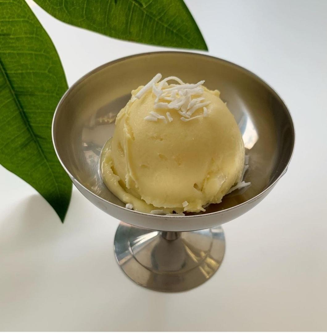 Gelateria Dodo's mango and coconut gelato is made with fresh mango and coconut milk. (Gelateria Dodo)