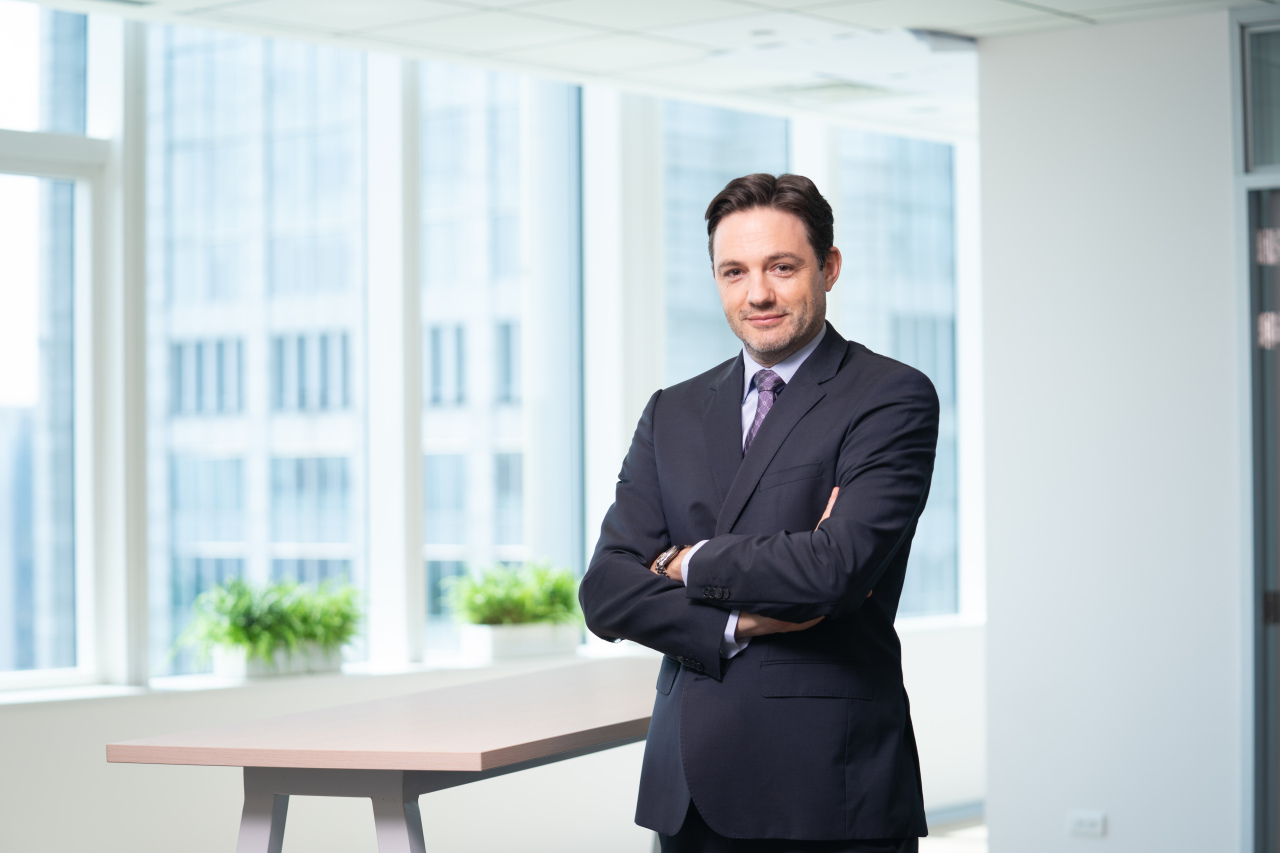 Matthias Bausenwein, president of Orsted Asia-Pacific (Orsted)
