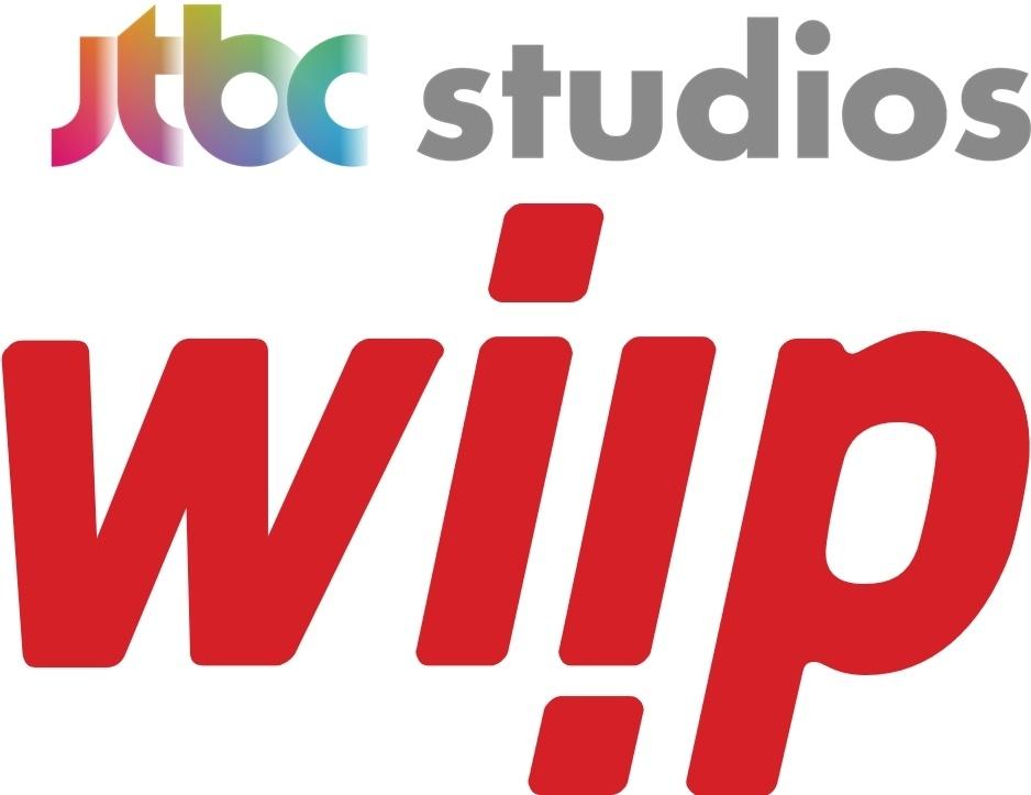 JTBC Studios Logo (Up) and Wiip Logo (JTBC Studios and Wiip)