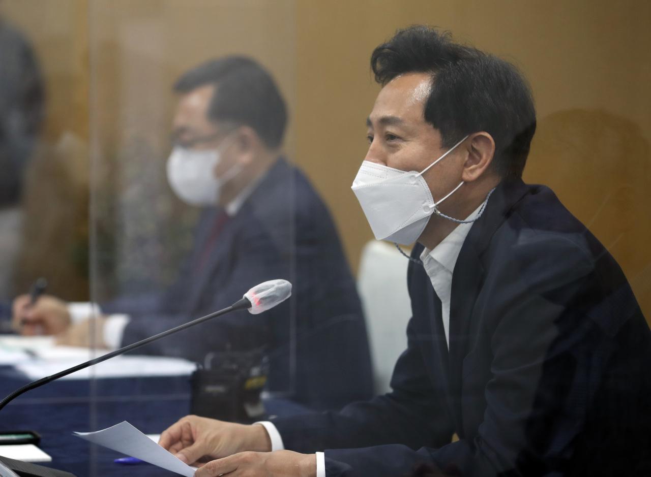 Seoul Mayor Oh Se-hoon (Yonhap)