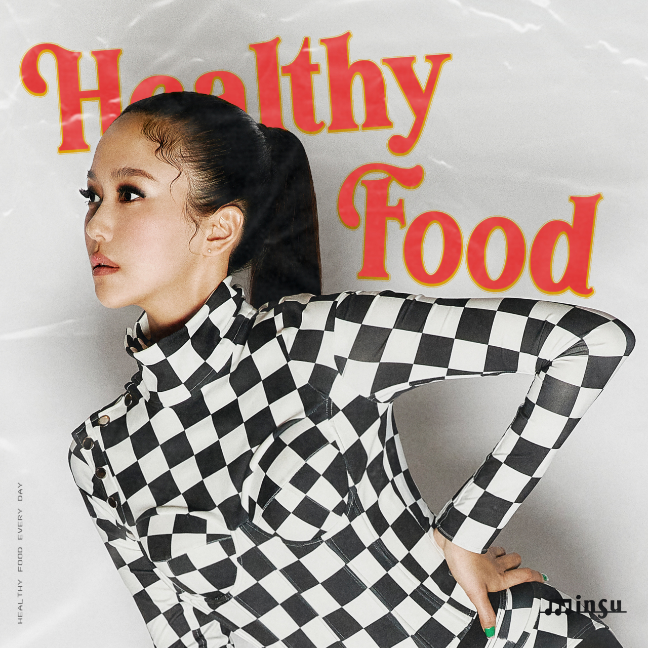 """The cover of Minsu's """"Healthy Food"""" (Magic Strawberry Sound)"""