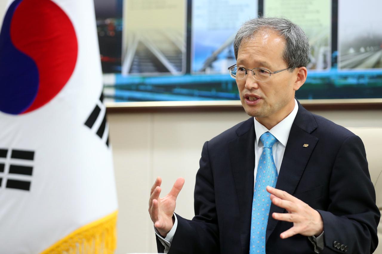 Kim Han-young, chairman and CEO of Korea National Railway