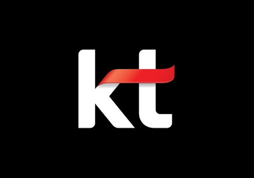 This undated image, provided by KT Corp., shows its logo. (KT Corp.)