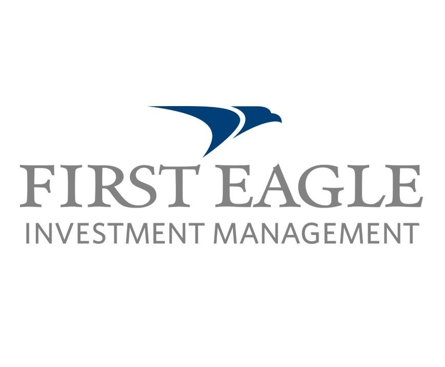 A logo of First Eagle Investment Management