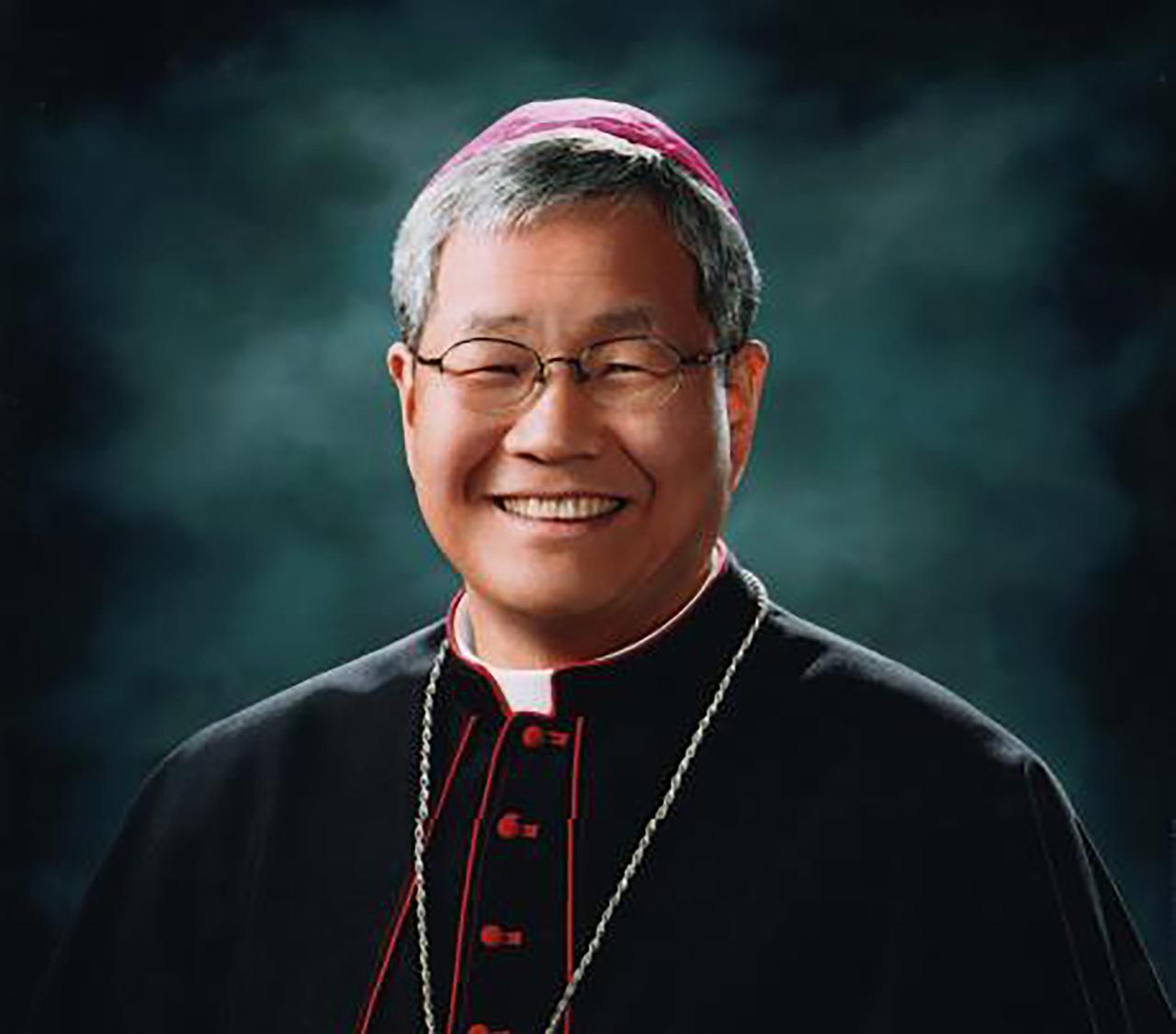 South Korean bishop Lazzaro You Heung-sik (Yonhap)