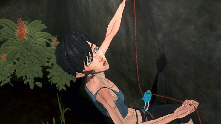 "A scene from Korean animated horror film ""Climbing"" (KAFA)"
