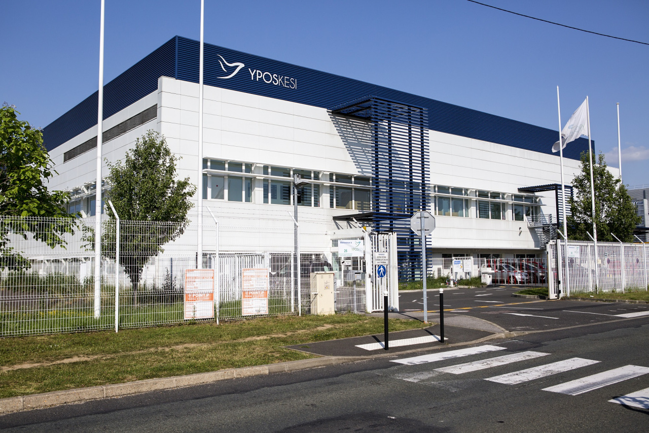 Yposkesi's manufacturing site. (SK Inc.)