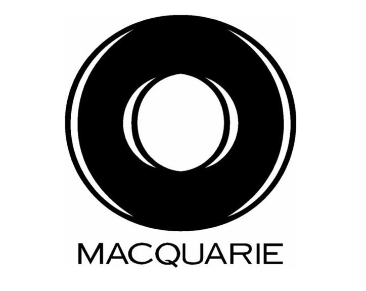 A logo of Macquarie Group