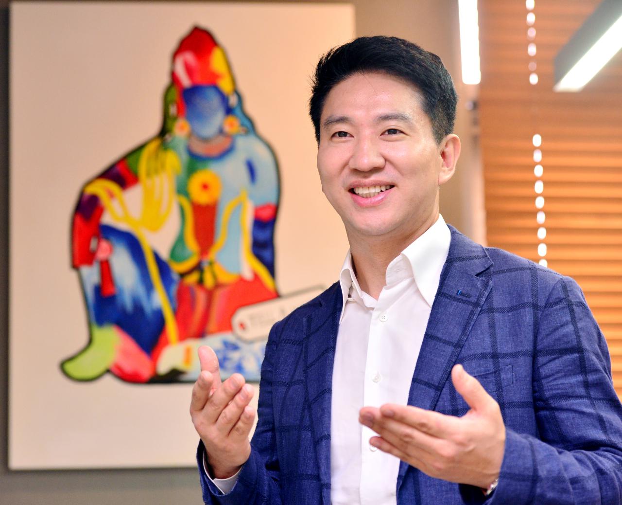 Lee Hyun-jun, CEO of eKYSS (Park Hyun-koo/The Korea Herald)