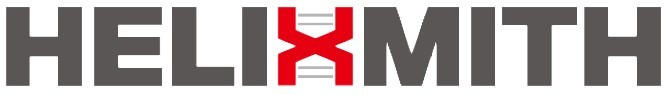 A corporate logo of South Korean biotech firm Helixmith (Helixmith)